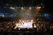 8 December 2007; John Duddy in action against Howard Eastman. Hunky Dory Fight Night, John Duddy.v.Howard Eastman, Kings Hall, Belfast, Co. Antrim. Picture credit: Peter Morrison / SPORTSFILE