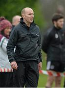 11 February 2015; Paddy Tally, St Mary's College, Belfast, manager. Independent.ie Sigerson Cup, Quarter-Finals, St Mary's College, Belfast V DCU. St Genevieves High School, Belfast, Co. Antrim. Picture credit: Oliver McVeigh / SPORTSFILE