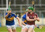 22 February 2015; Greg Lally, Galway, in action against Jason Forde, Tipperary. Allianz Hurling League, Division 1A, Round 2, Tipperary v Galway, Semple Stadium, Thurles, Co. Tipperary. Picture credit: Ray Ryan / SPORTSFILE