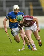 22 February 2015; Greg Lally, Galway, in action against Brendan Maher, Tipperary. Allianz Hurling League, Division 1A, Round 2, Tipperary v Galway, Semple Stadium, Thurles, Co. Tipperary. Picture credit: Ray Ryan / SPORTSFILE