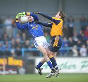 20 January 2008; Diarmuid Masterson, Longford, in action against Conor Mortimer, DCU. O'Byrne Cup Semi-Final, Longford v DCU, Pearse Park, Longford. Picture credit; David Maher  / SPORTSFILE
