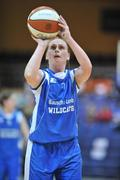 13 January 2008; Michelle Aspell, Waterford Wildcats. Women's SuperLeague National Cup Semi-Final 2008, Waterford Wildcats v DCU Mercy, Dublin, National Basketball Arena, Tallaght, Dublin. Picture credit: Brendan Moran / SPORTSFILE  *** Local Caption ***