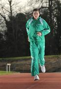 23 January 2008; Brian Gregan, St. Mark's Community School, Tallaght, Co. Dublin, pictured at the launch of 2008 KitKat Irish Schools' Athletics programme of events. This year over 26,000 students from over 850 secondary schools nationwide will take part in the KitKat Irish Schools' Athletics championships which have been the starting point for world renowned athletics stars such as Sonia O'Sullivan and Eamon Coghlan. Launch of 2008 KitKat Irish Schools' Athletics Events, Belfield, UCD, Dublin. Picture credit; David Maher / SPORTSFILE