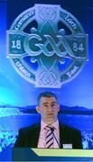 28 February 2015; Liam Sheedy, Chairman of the Hurling 2020 Committee, speaking at the GAA Annual Congress 2015. Slieve Russell Hotel, Cavan. Picture credit: Ray McManus / SPORTSFILE