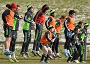 3 March 2015; A view of Munster squad training. University of Limerick, Limerick. Picture credit: Diarmuid Greene / SPORTSFILE