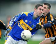 3 February 2008; Robbie Costigan, Tipperary, in action against David Herity, Kilkenny. Allianz National Football League, Division 4, Round 1, Kilkenny v Tipperary, Nowlan Park, Kilkenny City, Co. Kilkenny. Picture credit: Matt Browne / SPORTSFILE