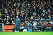 6 February 2008; Don Givens, Republic of Ireland caretaker manager during the game. International Friendly, Republic of Ireland v Brazil, Croke Park, Dublin. Picture credit; David Maher / SPORTSFILE