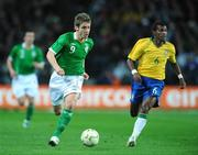 6 February 2008; Kevin Doyle, Republic of Ireland, in action against Richarlyson Felisbino, Brazil. International Friendly, Republic of Ireland v Brazil, Croke Park, Dublin. Picture credit; David Maher / SPORTSFILE
