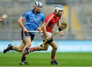 7 March 2015; Luke O'Farrell, Cork, in action against Conal Keaney, Dublin. Allianz Hurling League, Division 1A, Round 3, Dublin v Cork. Croke Park, Dublin. Picture credit: Piaras Ó Mídheach / SPORTSFILE