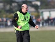 17 February 2008; Antrim joint manager Terence McNaughton during the game. Allianz National Hurling League, Division 1A, Round 2, Antrim v Wexford, Dunloy, Co. Antrim. Picture credit; Oliver McVeigh / SPORTSFILE