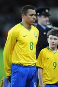 6 February 2008; Gilberto Silva, Brazil. International Friendly, Republic of Ireland v Brazil, Croke Park, Dublin. Picture credit; Pat Murphy / SPORTSFILE