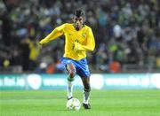 6 February 2008; Leonardo Moura, Brazil. International Friendly, Republic of Ireland v Brazil, Croke Park, Dublin. Picture credit; Pat Murphy / SPORTSFILE *** Local Caption ***