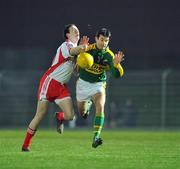 16 February 2008; Tom O'Sullivan, Kerry, in action against Colm Cavanagh, Tyrone. Allianz National Football League, Division 1, Round 2, Kerry v Tyrone, Austin Stack Park, Tralee, Co. Kerry. Picture credit; Brendan Moran / SPORTSFILE