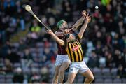 8 March 2015; Greg Lally, Galway, in action against Richie Hogan, Kilkenny. Allianz Hurling League, Division 1A, Round 3, Galway v Kilkenny, Pearse Stadium, Galway. Picture credit: Ray Ryan / SPORTSFILE