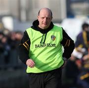 17 February 2008; Antrim joint manager, Terence McNaughton. Allianz National Hurling League, Division 1A, Round 2, Antrim v Wexford, Dunloy, Co. Antrim. Picture credit; Oliver McVeigh / SPORTSFILE
