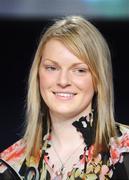 27 February 2008; Camogie winner Niamh Mulcahy at the Irish Examiner National Junior Sports Stars Awards, Round Room, Mansion House, Dublin. Picture credit; Brendan Moran / SPORTSFILE