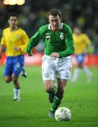 6 February 2008; Republic of Ireland's Aiden McGeady. International Friendly, Republic of Ireland v Brazil, Croke Park, Dublin. Picture credit; Brian Lawless / SPORTSFILE