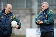 2 March 2008; Meath selectors Dudley Farrell, left, and Tommy Dowd. Allianz National Football League, Division 2, Round 3, Westmeath v Meath, Cusack Park, Mullingar, Co. Westmeath. Picture credit: Paul Mohan / SPORTSFILE