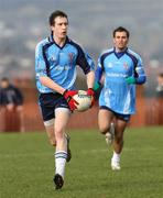 27 February 2008; Colm Cavanagh, UUJ. Ulster Bank Sigerson Cup Senior Football Quarter-Final, QUB v UUJ. The Dub Queen's University, Belfast, Co. Antrim. Picture credit; Oliver McVeigh / SPORTSFILE