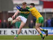 15 March 2015; Tommy Walsh, Kerry, in action against Paddy McGrath, Donegal. Allianz Football League, Division 1, Round 5, Kerry v Donegal, Austin Stack Park, Tralee, Co. Kerry. Picture credit: David Maher / SPORTSFILE
