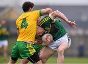 15 March 2015; Tommy Walsh, Kerry, in action against Eamonn McGee, Donegal. Allianz Football League, Division 1, Round 5, Kerry v Donegal, Austin Stack Park, Tralee, Co. Kerry. Picture credit: David Maher / SPORTSFILE