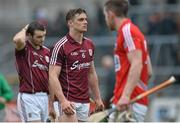15 March 2015; Galway's Greg Lally dejected after the game. Allianz Hurling League Division 1A Round 4, Galway v Cork. Pearse Stadium, Galway. Picture credit: Ray Ryan / SPORTSFILE