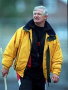 3 June 2000; Down manager Jimmy O'Reilly during the Guinness Ulster Senior Hurling Championship Quarter-Final match between Down and New York at Casement Park in Belfast. Photo by Ray McManus/Sportsfile
