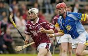 2 May 2004; John Shaw, Westmeath, in action against Trevor McGrath, Wicklow. Guinness Leinster Senior Hurling Championship, Westmeath v Wicklow, Cusack Park, Mullingar, Co. Westmeath. Picture credit; Pat Murphy / SPORTSFILE *EDI*
