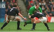 1 February 1995; Keith Wood, Ireland, in action against Scotland. Five Nations Rugby Championship, Scotland v Ireland, Murrayfield Stadium, Edinburgh, Scotland. Picture credit: David Maher / SPORTSFILE