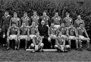 1970; The Ireland rugby team. Lansdowne Road, Dublin.