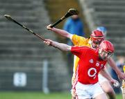16 March 2008; John Kirwan, Cork, in action against Aidan Gallagher, Antrim. Allianz National Hurling League, Division 1A, Round 4, Antrim v Cork, Casement Park, Belfast, Co. Antrim. Picture credit; Peter Morrison / SPORTSFILE