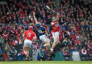22 March 2015; Cormac Murphy, Cork, in action against Jason Forde, Tipperary. Allianz Hurling League Division 1A, round 5, Cork v Tipperary, Páirc Uí Rinn, Cork. Picture credit: Paul Mohan / SPORTSFILE