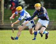 23 March 2008; Lar Corbett, Tipperary, in action against Conor Dunne, Laois. Allianz National Hurling League, Division 1A, Round 5, Tipperary v Laois, Leahy Park, Cashel, Co. Tipperary. Picture credit; David Maher / SPORTSFILE