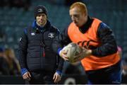 20 February 2015; Daniel Tobin, Head of Fitness, Leinster. Guinness PRO12, Round 15, Leinster v Zebre. RDS, Ballsbridge, Dublin. Picture credit: Pat Murphy / SPORTSFILE