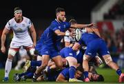 28 October 2017; Jamison Gibson-Park of Leinster during the Guinness PRO14 Round 7 match between Ulster and Leinster at Kingspan Stadium in Belfast. Photo by David Fitzgerald/Sportsfile