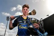 31 March 2015; Ronan Teehan, captain, Thurles CBS, pictured ahead of the Masita GAA All-Ireland Post Primary Schools Croke Cup Final which will take place between Thurles CBS, Tipperary, and St. Kieran's College, Kilkenny, in Semple Stadium, Thurles, at 5pm on Saturday. Semple Stadium, Thurles, Co. Tipperary. Picture credit: Diarmuid Greene / SPORTSFILE