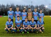 1 April 2015; The UCD team. SSE Airtricity U19 League Enda McGuill Cup Final, UCD v Derry City. The UCD Bowl, UCD, Belfield, Dublin. Picture credit: Piaras Ó Mídheach / SPORTSFILE