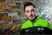 2 April 2015; Irish rider Jack Wilson of the An Post Chain Reaction Sean Kelly Team poses for a portrait at the 2015 team launch. Gent, Belgium. Picture credit: Ramsey Cardy / SPORTSFILE