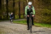 2 April 2015; Irish rider Jack Wilson of the An Post Chain Reaction Sean Kelly Team during a training ride at the 2015 team launch. Gent, Belgium. Picture credit: Ramsey Cardy / SPORTSFILE