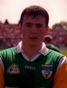 Ciaran McManus Offaly Football 25/5/97.   Photograph Damien Eagers  SPORTSFILE.