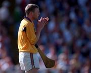 Damien Fitzhenry, Wexford Hurling. 17/8/97.  Photograph: Matt Browne SPORTSFILE.