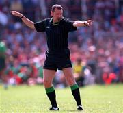 Eddie Neary Referee ( Galway V Mayo Tuam, 25/5/97).  Photograph Ray McManus SPORTSFILE.