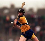 National hurling League, Clare V Limerick, Gaelic Grounds, 22/3/98. Frank Lohan Clare. Photograph © Matt Browne SPORTSFILE.