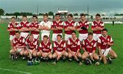 Galway senior team v Tipperary, League semi-final.  28/8/97. Photograph SPORTSFILE.