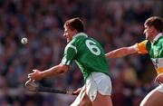 All Ireland Final, Croke Park, Offaly V Limerick, 4/9/94, Ger Hegarty Limerick in action against Michael Duignan Offaly. Photograph © Ray McManus SPORTSFILE.
