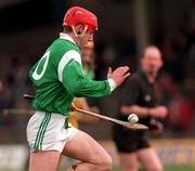 Church & General National Hurling League Offaly v Limerick 8/3/1998 Action Features Limerick's James Moran Photograph Matt Browne SPORTSFILE.
