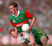 All Ireland Football Final Mayo v Meath 15/9/1996  James Nalen (Mayo) and Enda McManus (Meath)  Photograph Dave Maher SPORTSFILE