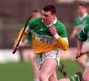 Church & General National Hurling League Offaly v Limerick 8/3/1998 Action Features Offaly's Killian Farrell Photograph Matt Browne SPORTSFILE.