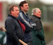 Jimmy Barry Murphy Cork Hurling Manager with Sean O Laoire Cork Hurling Selectior 26/10/1997 Photograph Ray McManus SPORTSFILE