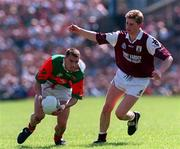 John Casey Mayo in action against Damien Mitchell Galway, Tuam, 25/5/97). Photograph Ray McManus SPORTSFILE.